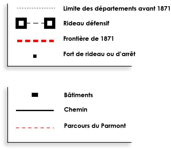 Ville De Remiremont Sentier Séré De Rivières Legende