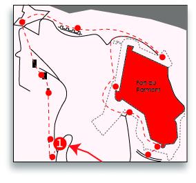 Ville De Remiremont Sentier Séré De Rivières Mini Carte