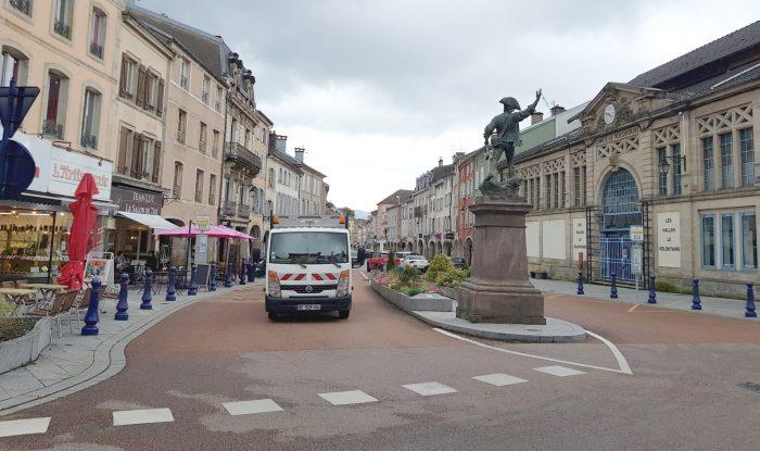 Ville De Remiremont Temporaires RueChdeG