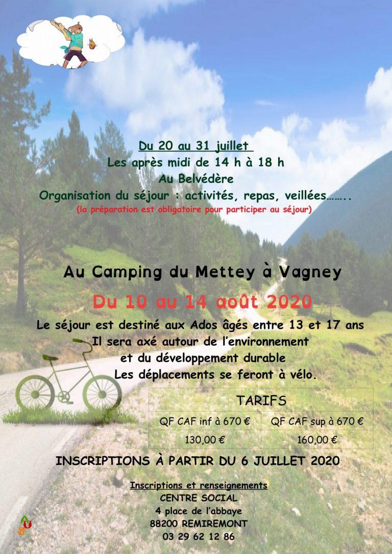 Ville De Remiremont Actualites Plaquette Ados