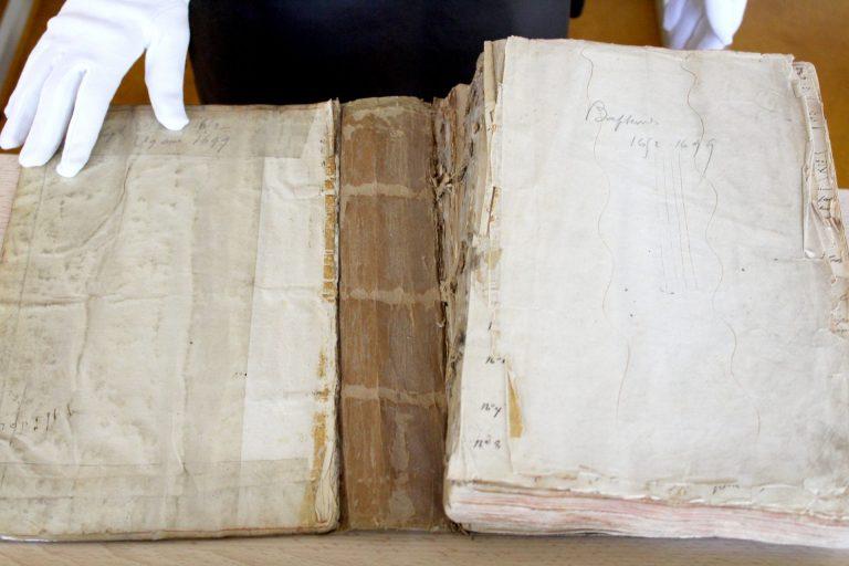 Ville De Remiremont Archives Registre De Baptemes