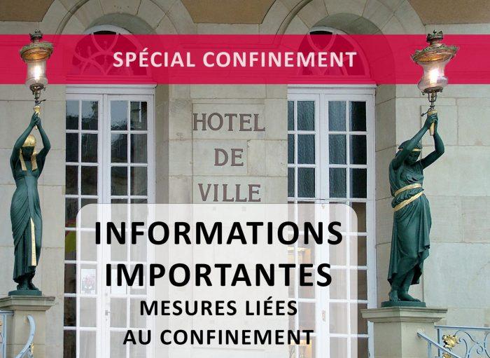 Ville De Remiremont Actualites InfosConfinement
