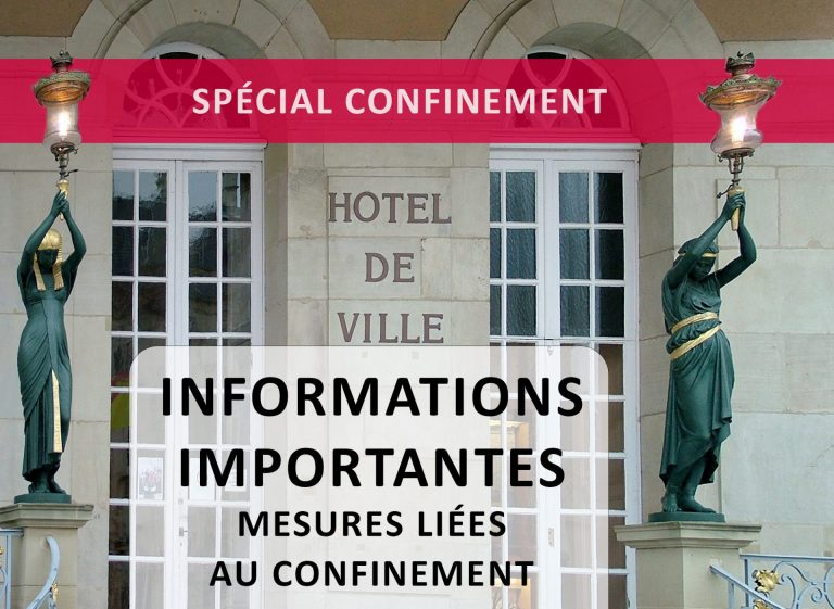 Ville De Remiremont Actualites InfosConfinement