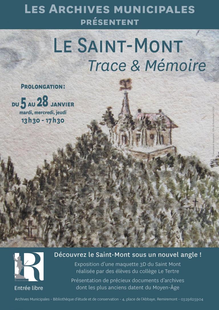 Ville De Remiremont Actualites Affiche Expo Saint Mont Archives