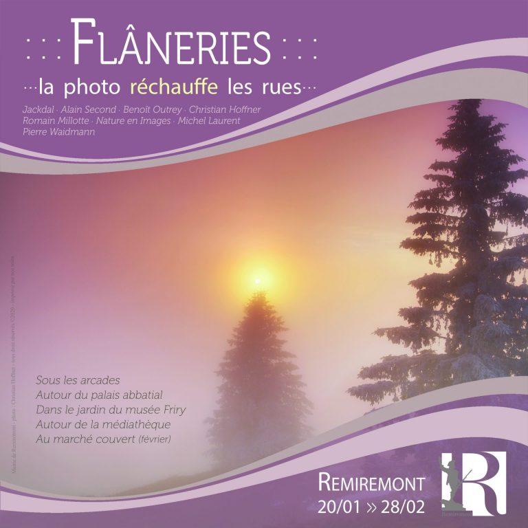 Ville De Remiremont Temporaires Affiche Flaneries