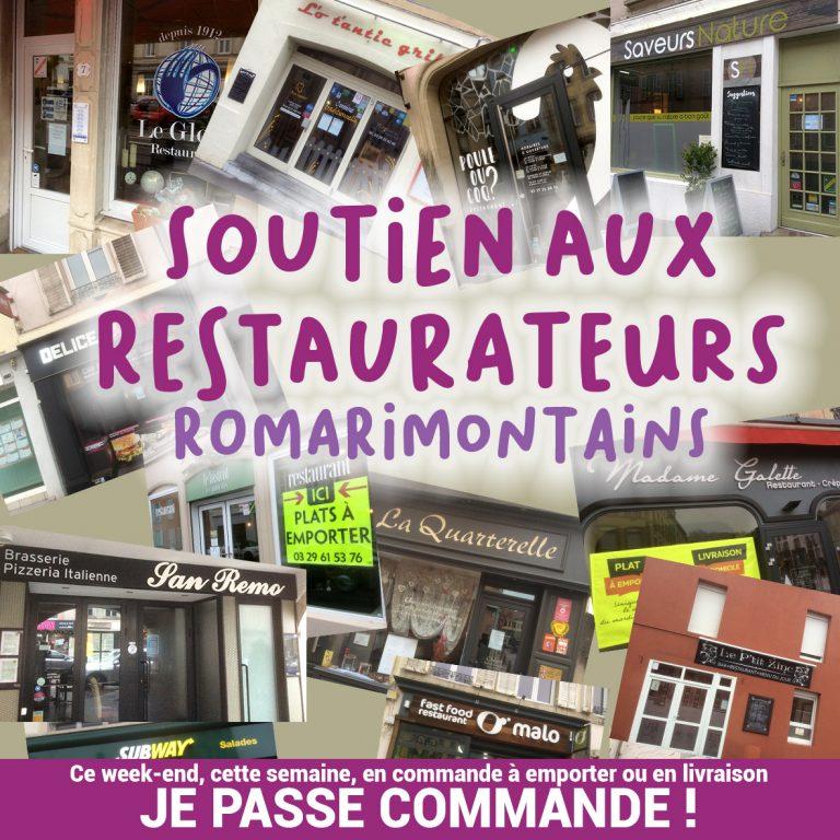 Ville De Remiremont Temporaires Soutien Restaurateurs
